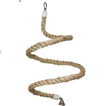 Natural Rope Perch Spiral