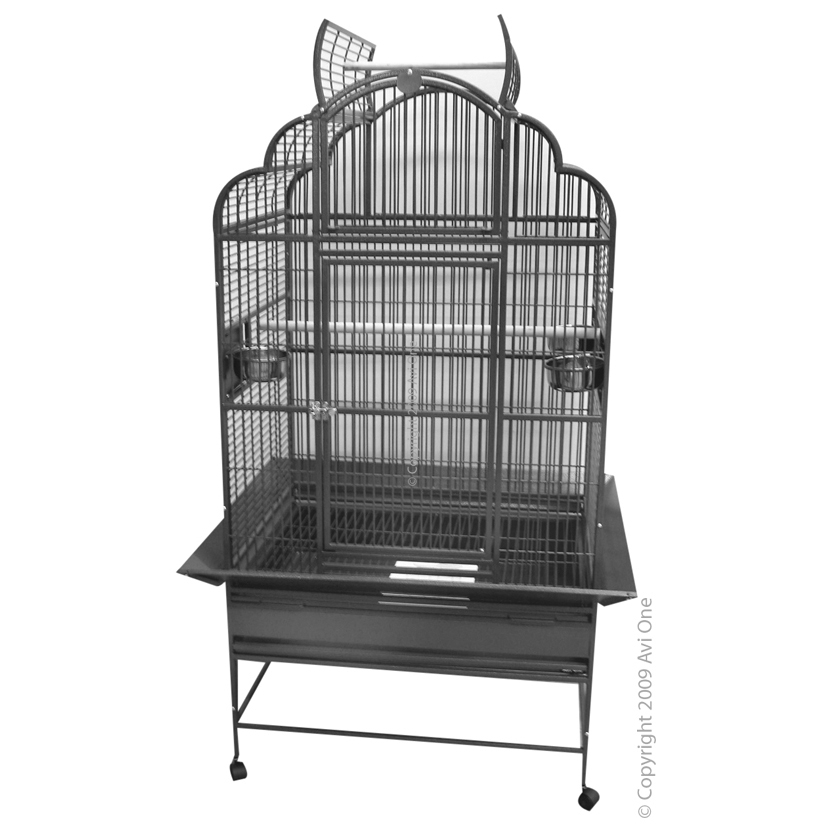 Avi One 932SB Large Open Top Parrot Cage