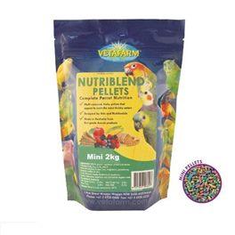 Vetafarm Nutriblend Pellets Mini 2kg