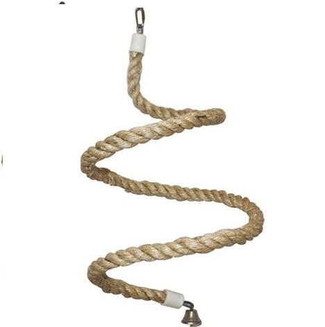 Natural Rope Perch Spiral