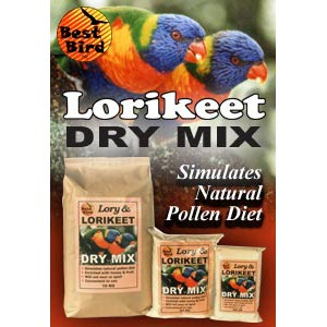 Lorikeet Dry Mix 10kg Bird Food