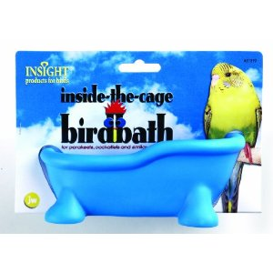 JW Insight Inside the Cage Bird Bath